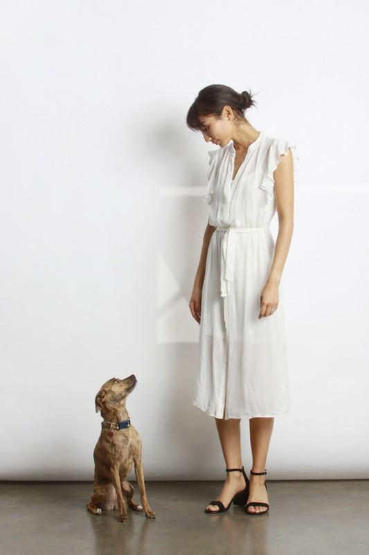 Gerry Dress in Cream from Gingerly Witty