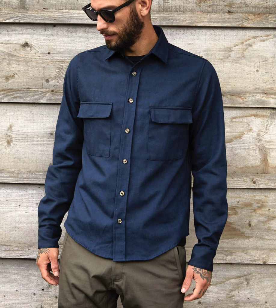 Helm Men's Workshirt navy Coldsmoke Los Angeles