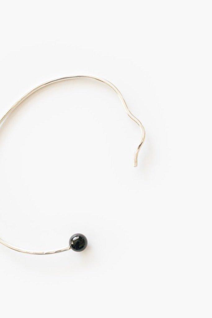 WKNDLA Wavy Cuff Bracelet in 14k Gold - $68