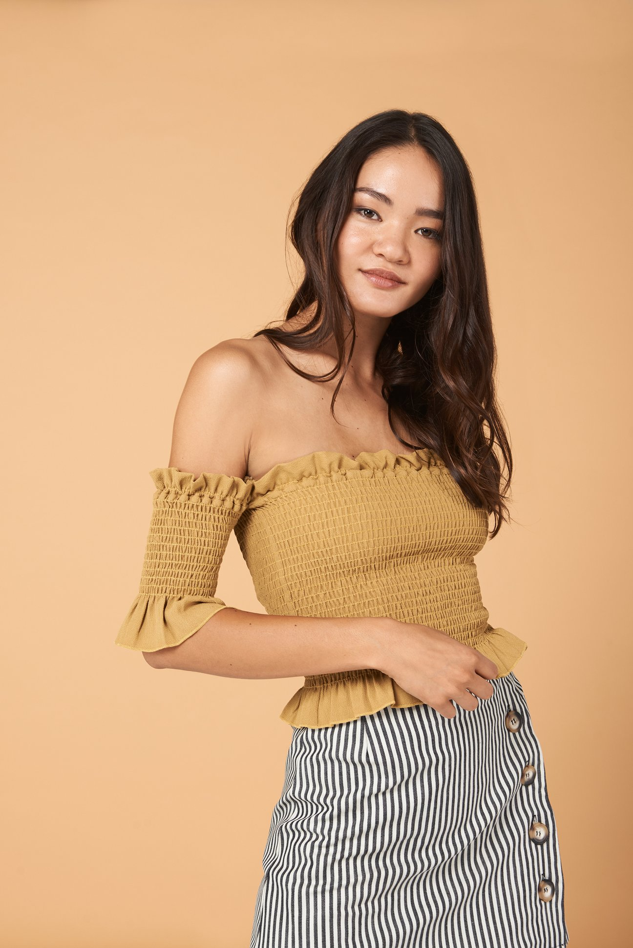 Dena Top in Gold - $84