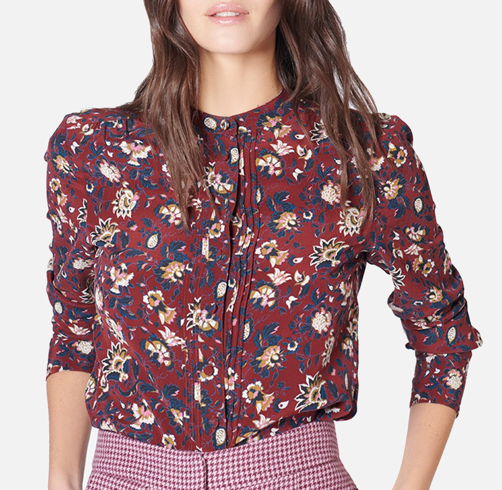 Alta Tunic - Bordeaux/Multi - $395