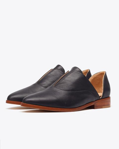 Nisolo Emma d'Orsay Oxford in Noir $188