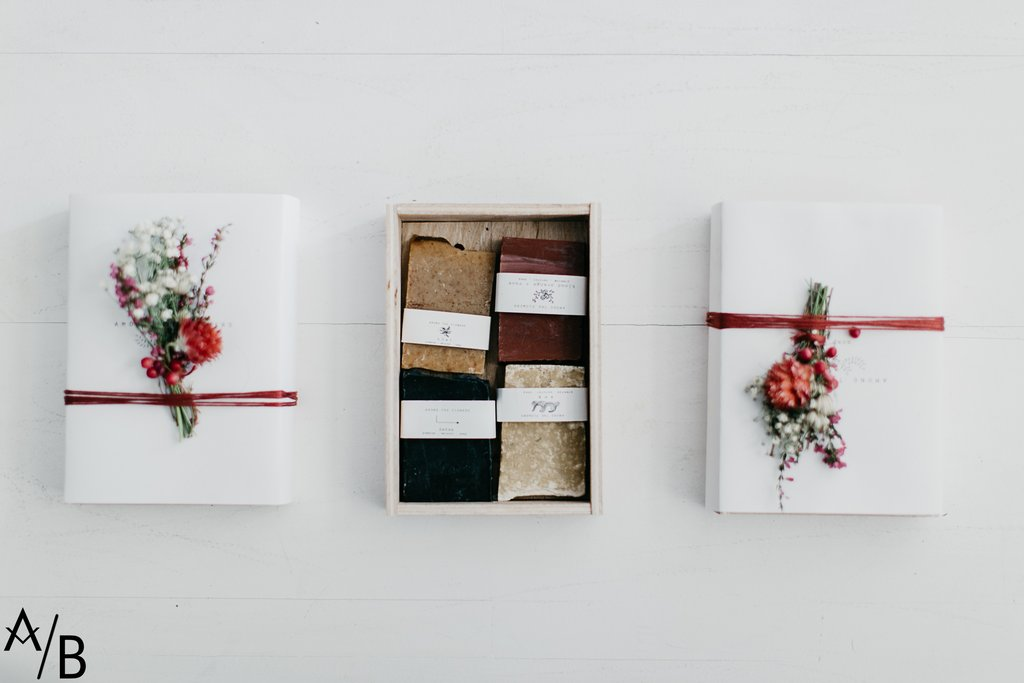 Soap Gift Boxes - $16