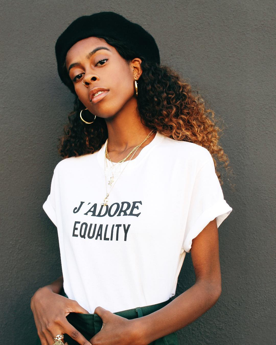 J'ADORE EQUALITY TEE