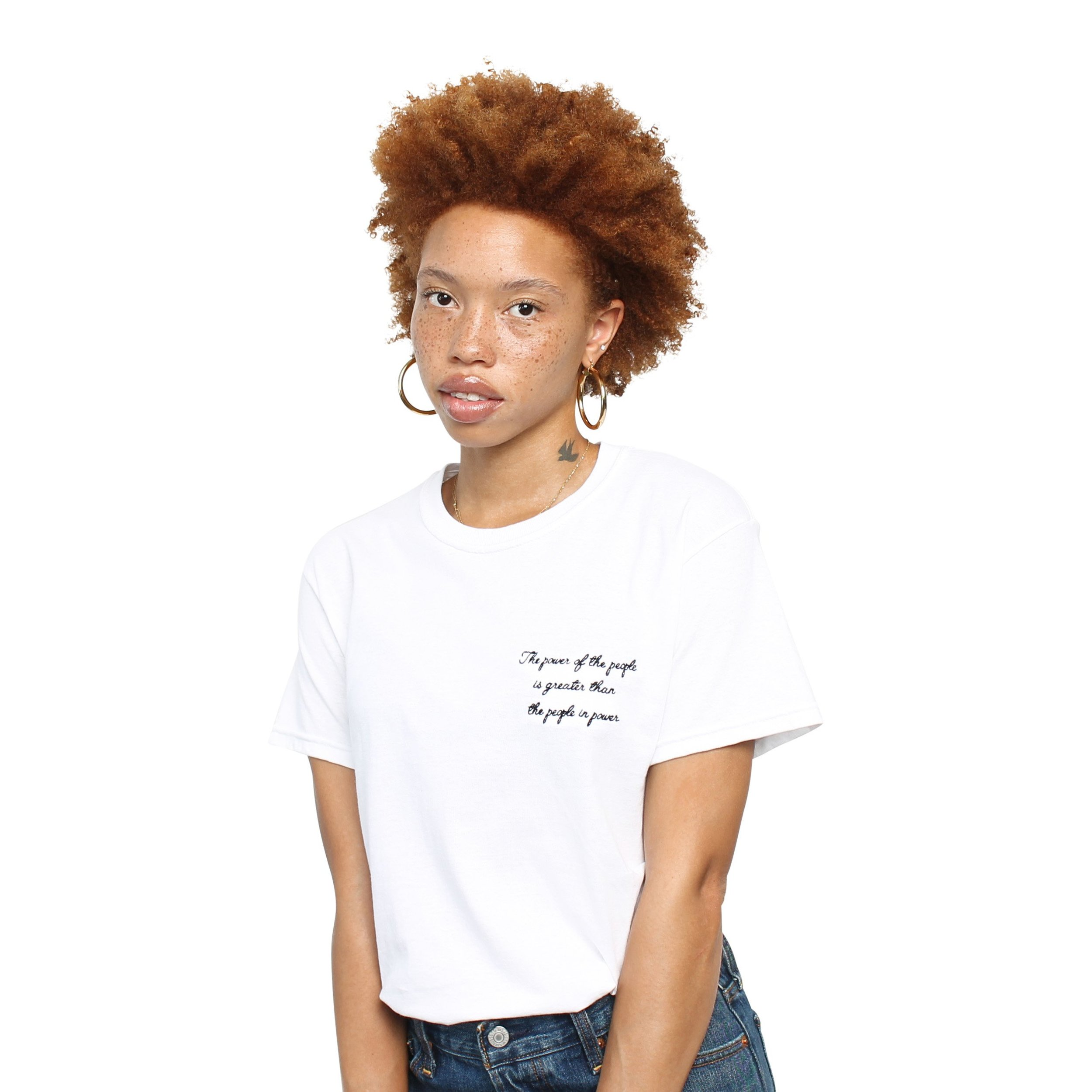 POWER OF THE PEOPLE TEE - WHITE