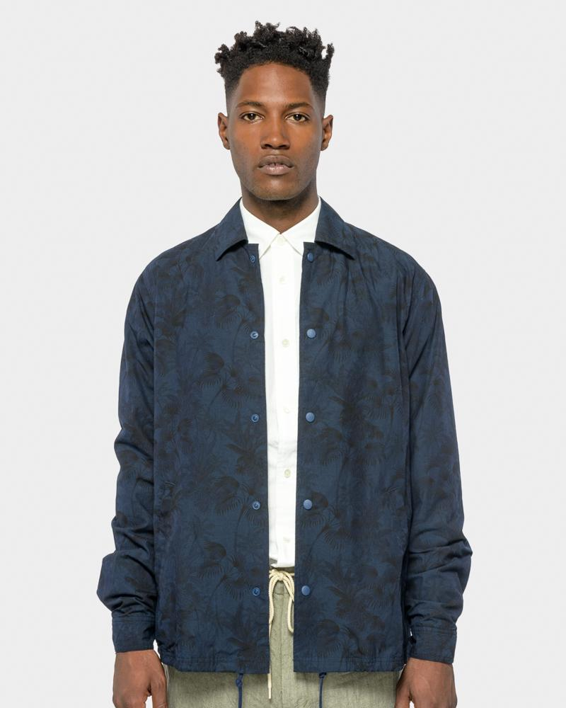 SMOCK Man FORUM JACKET IN FLORAL DARK NAVY