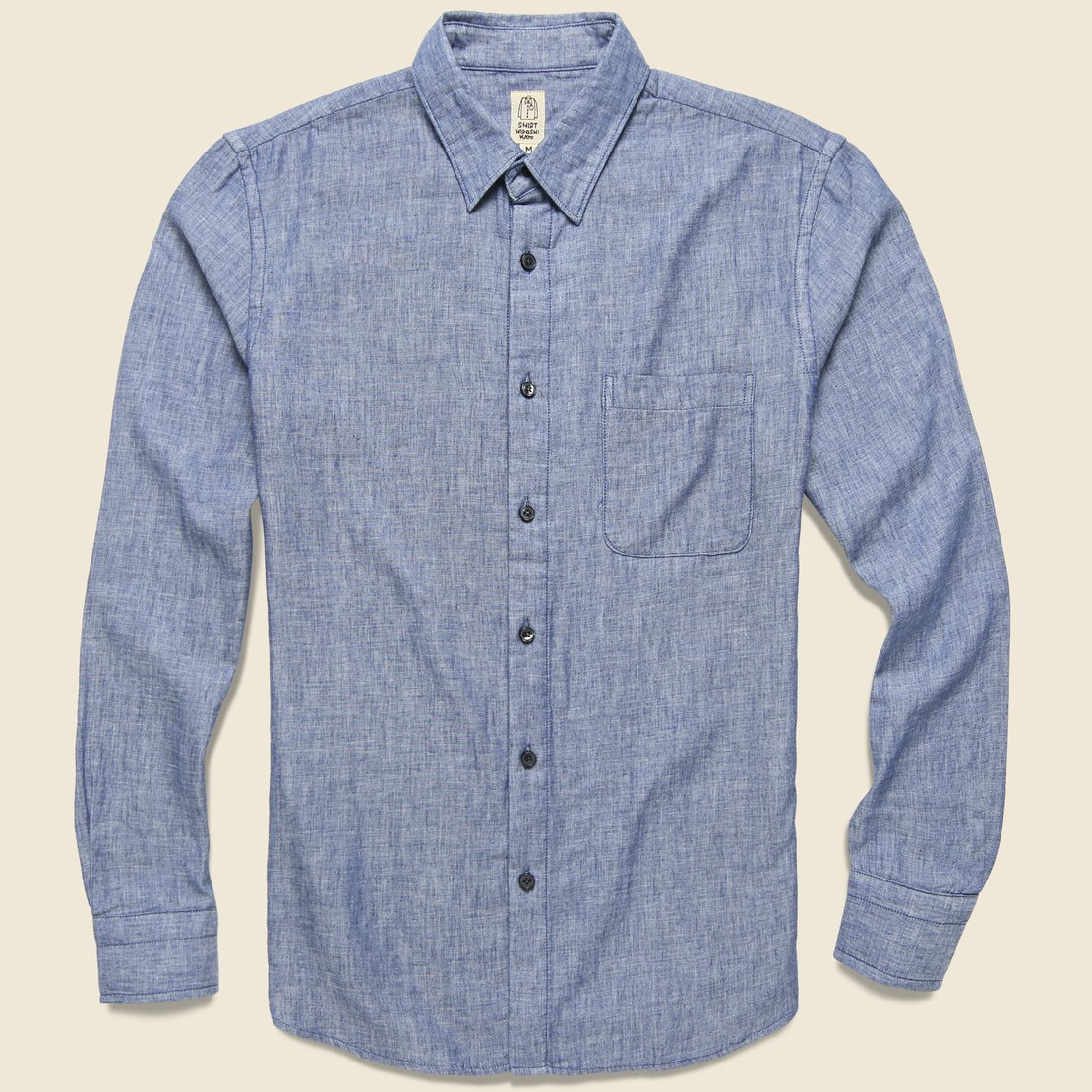 HUDSON WORKSHIRT - CHAMBRAY
