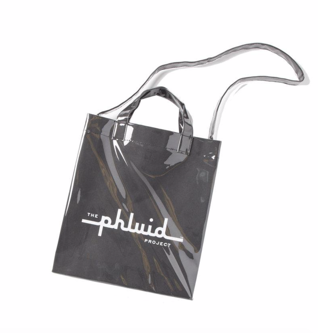 Brand Tote - PVC Kraft Tote / $50A tote great for carrying your daily essentials, for travel or for anything else!