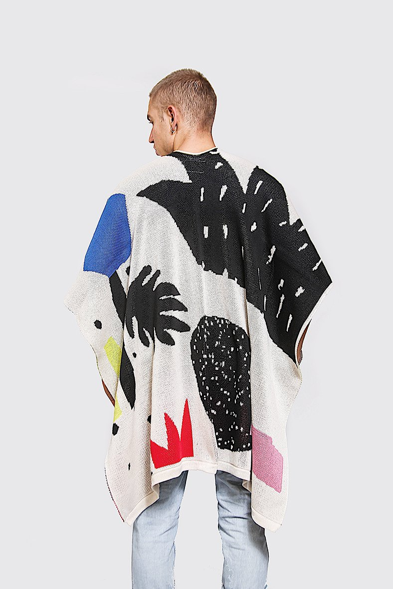 Pay's Poncho - Meridiano Poncho / $147There is something to be said for really great knitwear, and these ponchos are truly amazing! Playful and in a variety of patterns, you're sure to find the perfect one for you!