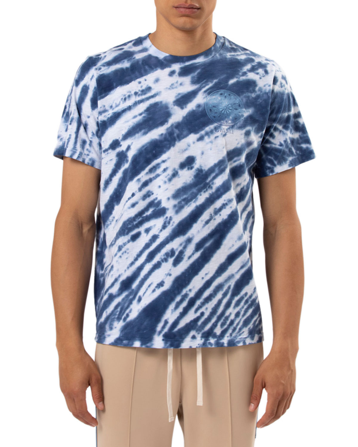 Ovadia & Sons - Blue Tie-Dye / $140See? Not all dye tops have to feature a swirl pattern…