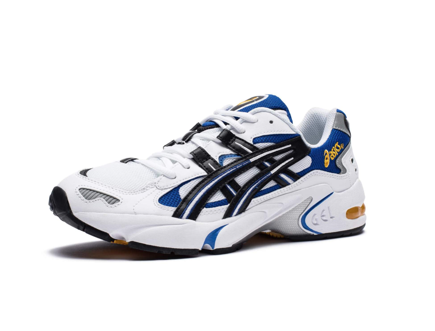 "Asics - GEL-KAYANO 5 OG / $120""Originally launched in 1999, the GEL-KAYANO® 5 model finally makes its return. The silhouette maintains the iconic original details and it's legendary comfort with an even lighter weight. The shoe features classic 90's aesthetic: a bulky silhouette, heavy use of overlays, aggressive tiger stripe branding and bold, directional tooling, including the original trusstic technology."""