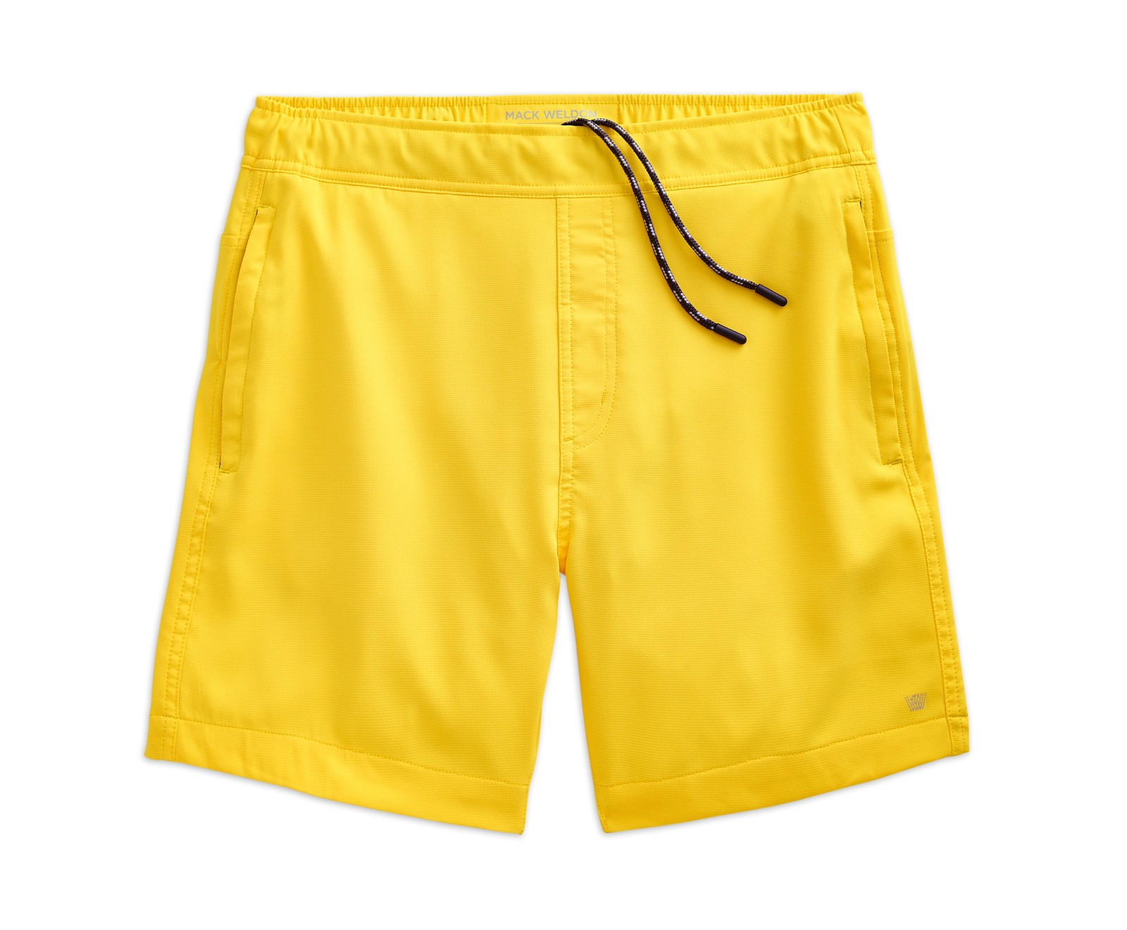 Mack Weldon - Trunk in Taxi / $88.00What better way to break free from the boring black trunks than with this perfectly yellow pair?