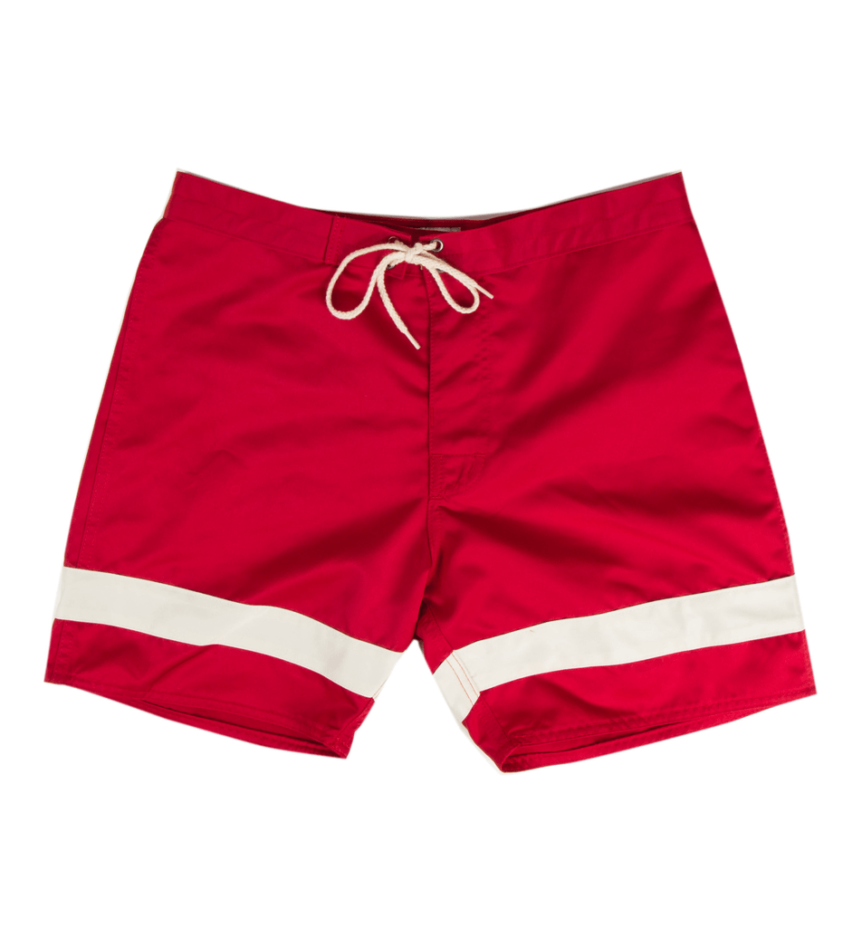 Iron & Resin - Bruce Brown Hollow Days Boardshort / $48.00A classic look with a twist – for the modern lifeguard in you.
