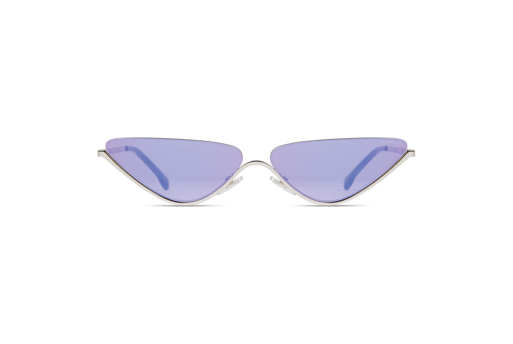 Komono - Ash Silver Amethyst / $89I've taken enough astrology quizzes to know that the cat eye suits my personality best, and these funky shades are a fun twist on the otherwise classic shape.