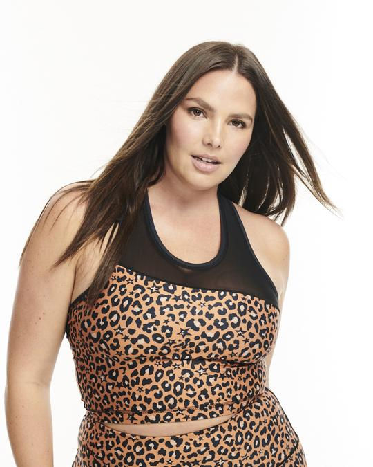 Day Won - Fast Times Performance Crop / $54.00Leopard print is in this summer and what better way to sport it than at the gym. All of Day Won's prints are created digitally to save water, reduce pollution, and heal the planet.