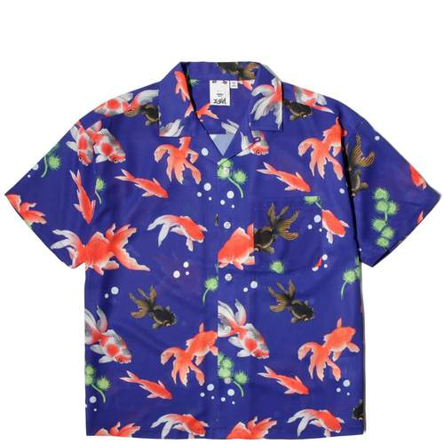 Bodega - Goldfish Shirt / $110Don't you want to wear this unbuttoned over your swimsuit while you prance around in the sand?