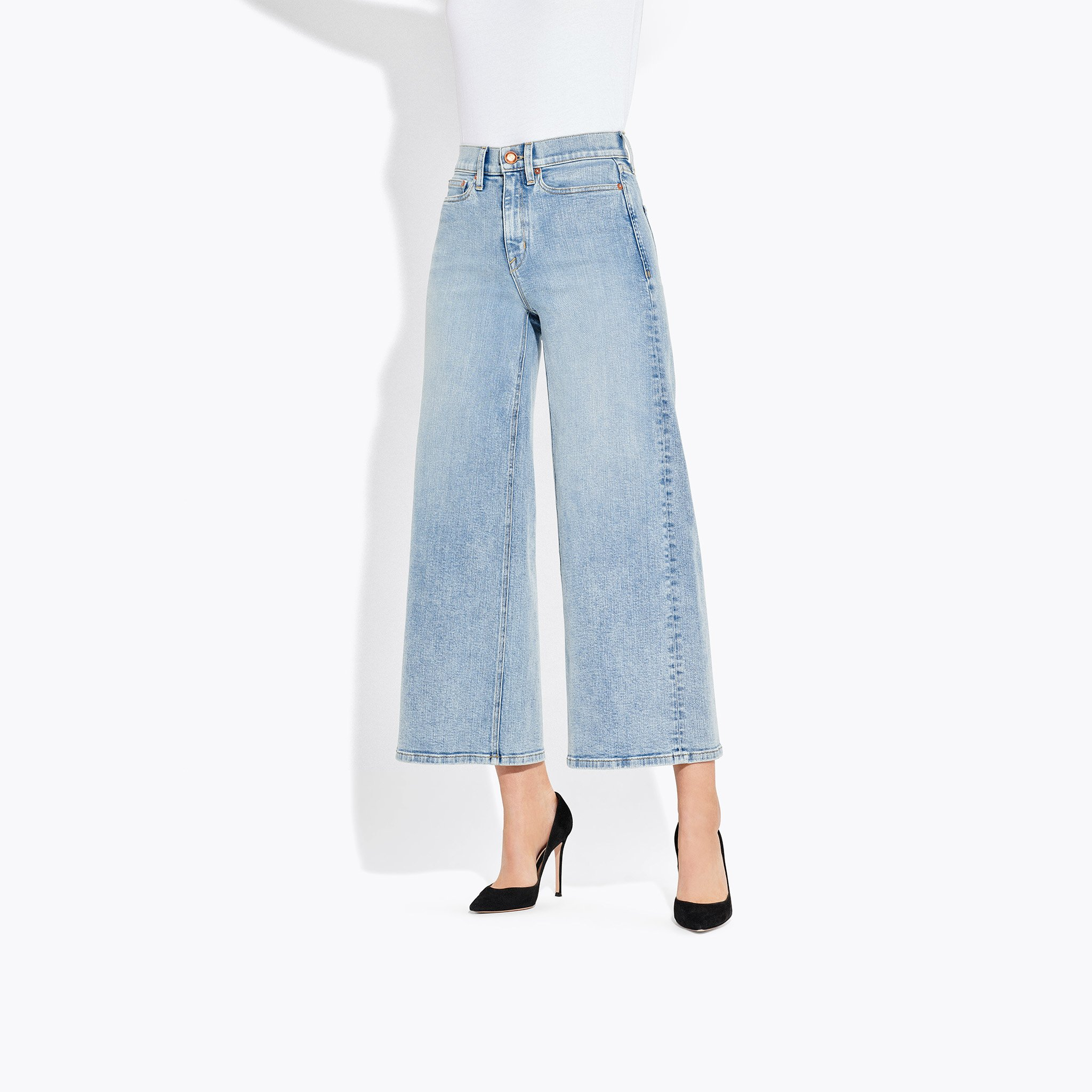 AYR - The Must / $225.00If for whatever reason you HAVE to wear jeans in this heat, this is the pair. Loose all the way through the leg to allow for minimum denim contact, while still holding a dope, tailored shape.
