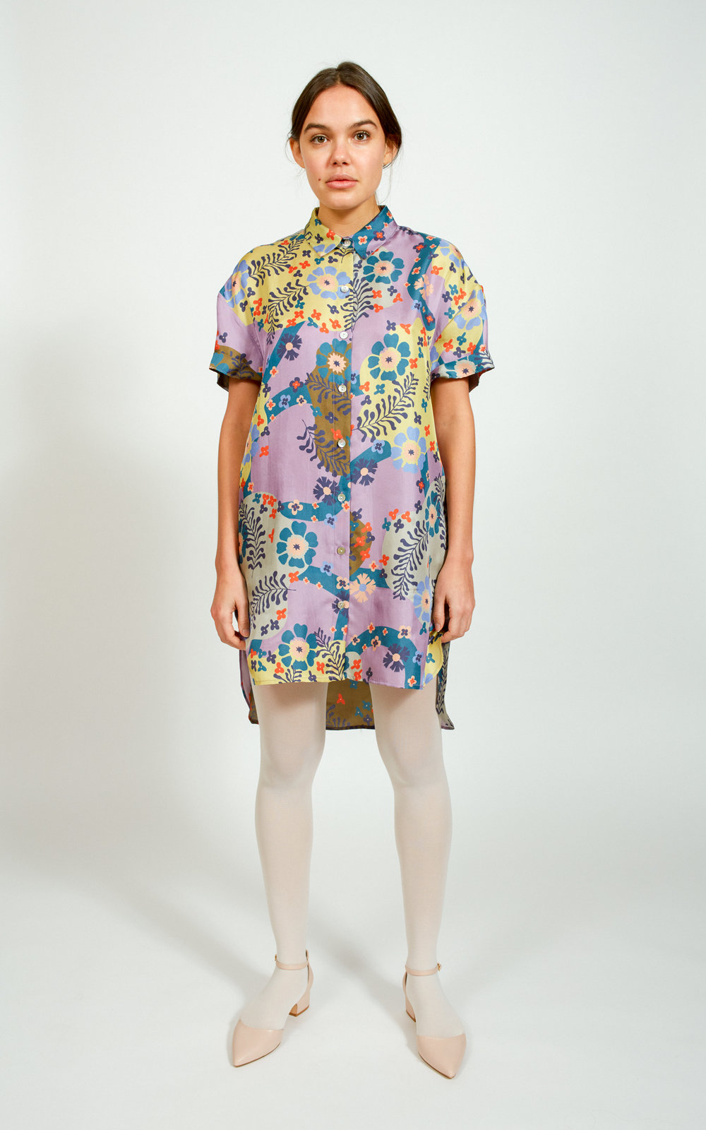 Apalma - Cata Shirt Dress / $119.00With the great tailoring and cool print, this silk shirtdress is perfect to stay cool while still looking work or happy hour ready.