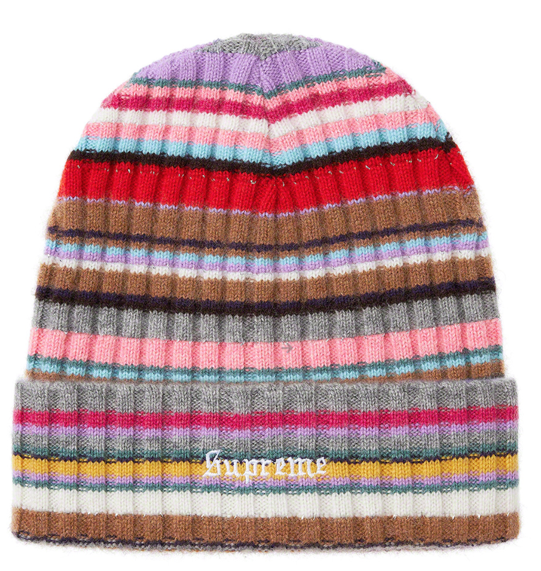 Cashmere Beanie - Who doesn't want to wrap their head in rainbow colored cashmere!?