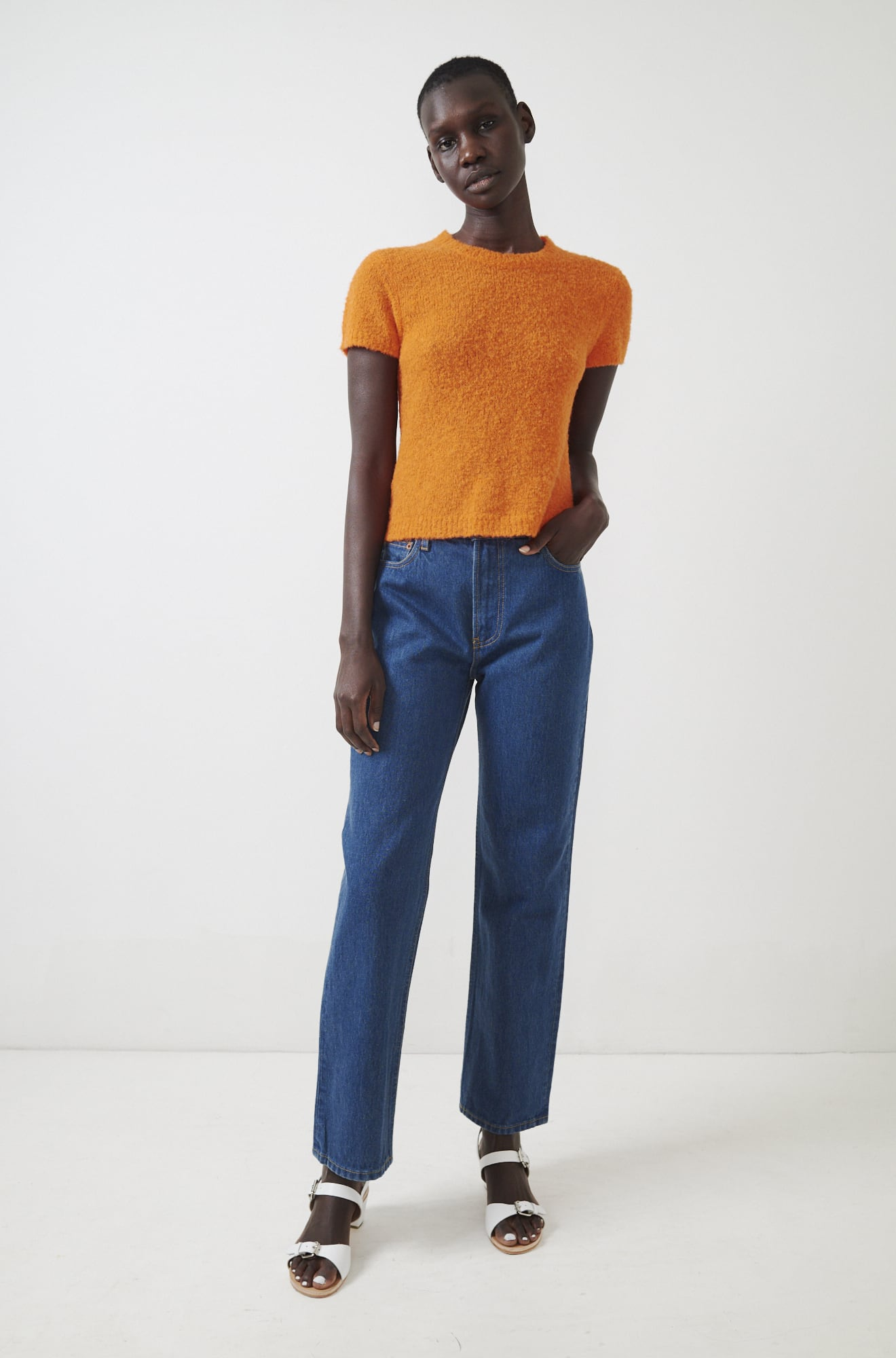 Rachel Comey - Bo Top / $195Short-sleeves, but make it a sweater.