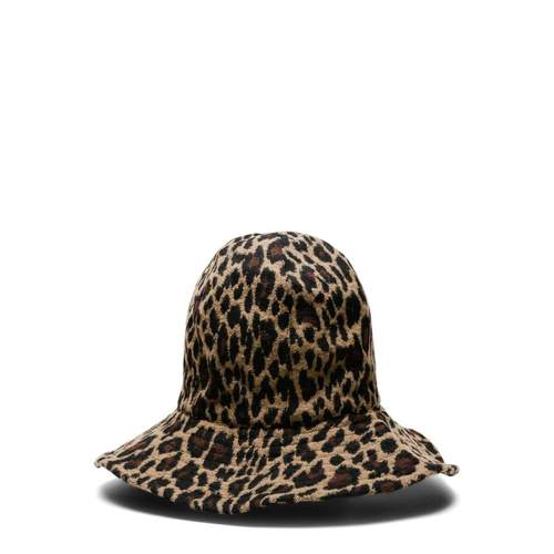 Engineered Garments - Leopard Bucket Hat / $144Keep the leopard print trend alive with this domed bucket hat.