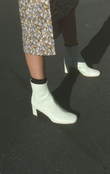 Maryan Nssir Zadeh - Agnes Boot / $580Swap out your neutral boots for something that'll make heads turn!
