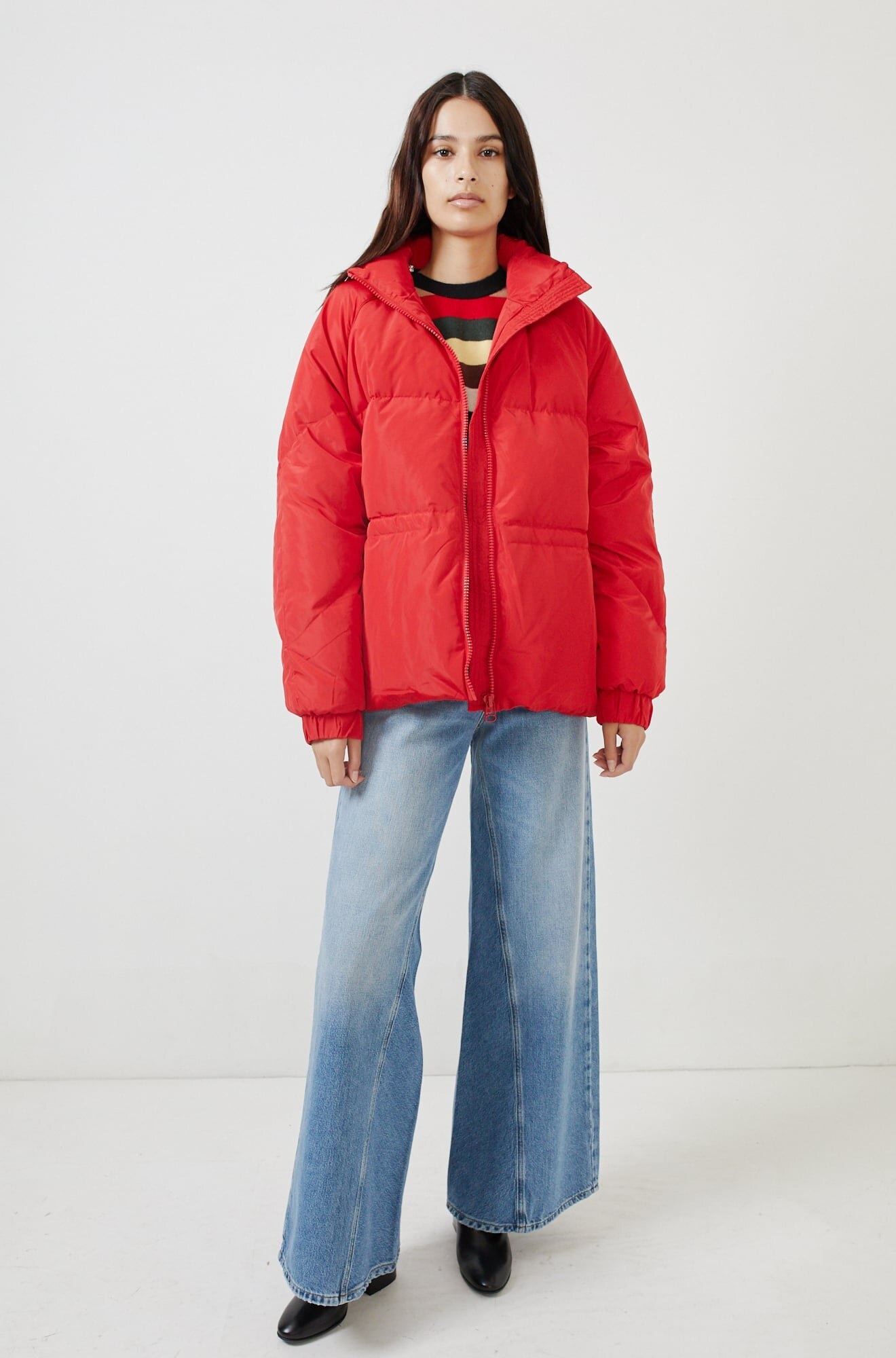 Ganni - Tech Down Puffer / $395No, it's not too soon for puffers! Pair this with a slip dress as we weather this transitional season and wear it all the way through winter.