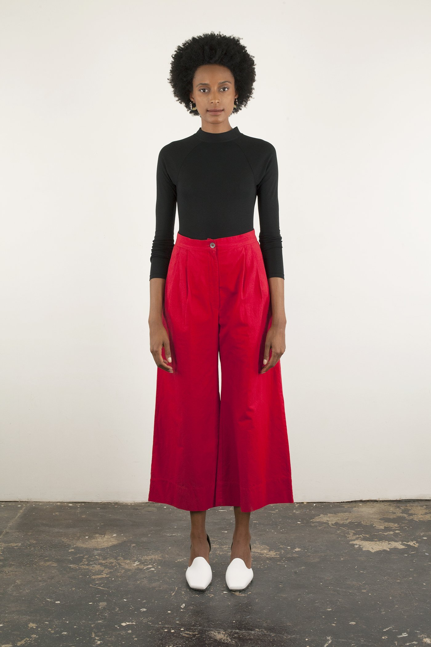 WRAY - Eli Pant / $165Parisian pre-school teacher but make it fashion? Somehow this pleated, 100% cotton pant did just that.