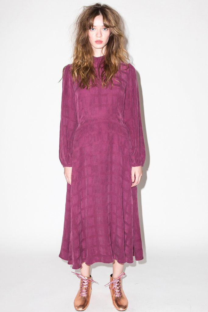 Kurt Lyle - Duke Dress / $294Gucci-inspired Thanksgiving outfit, anyone? This full length, mock neck ensemble is not only adorable, but it's also family-event approved.