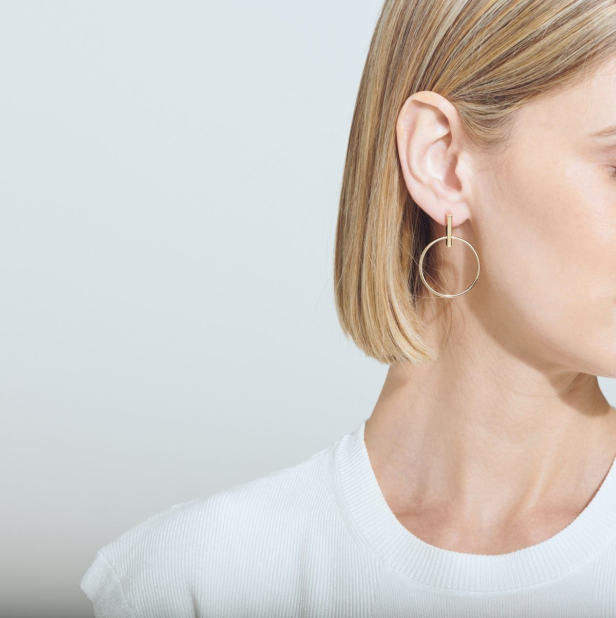 aurate - Circle Earrings in Vermeil / $180 for a pairThese earrings + your favorite chunky sweater = the perfect fall pairing. Not to mention that they're made from ethical solid gold from conflict-free suppliers.