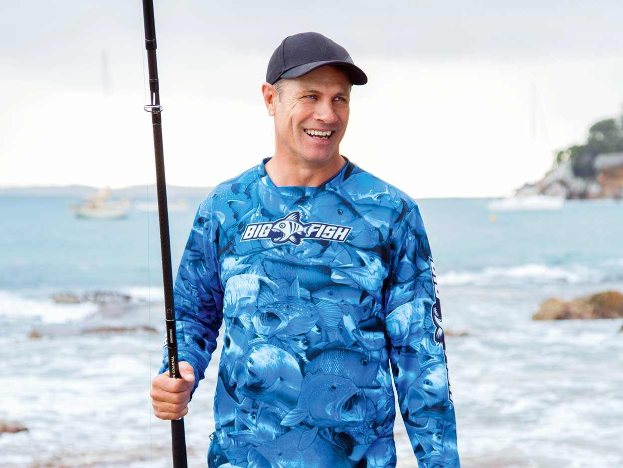 Family, Footy, Fishing - We catch up with NRL legend and fishing fanatic Andrew Ettingshausen to talk sport, life, work, and avoiding that nasty little thing called stress..