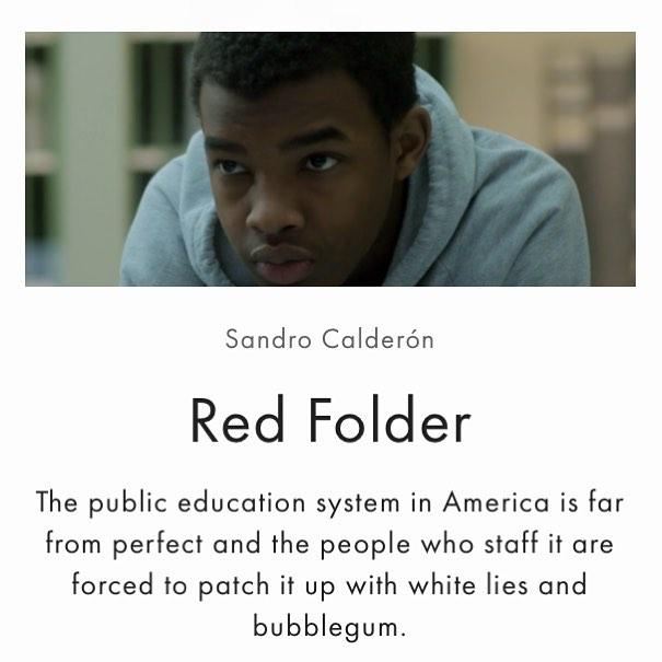 Ben Kallam shows us a broken system. #film #cinema #independentfilm #redFolder #benKallam #filmblog #cinemafidelity