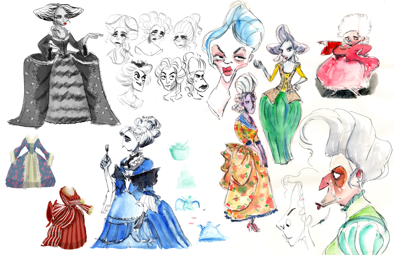 Mother Character Sketches