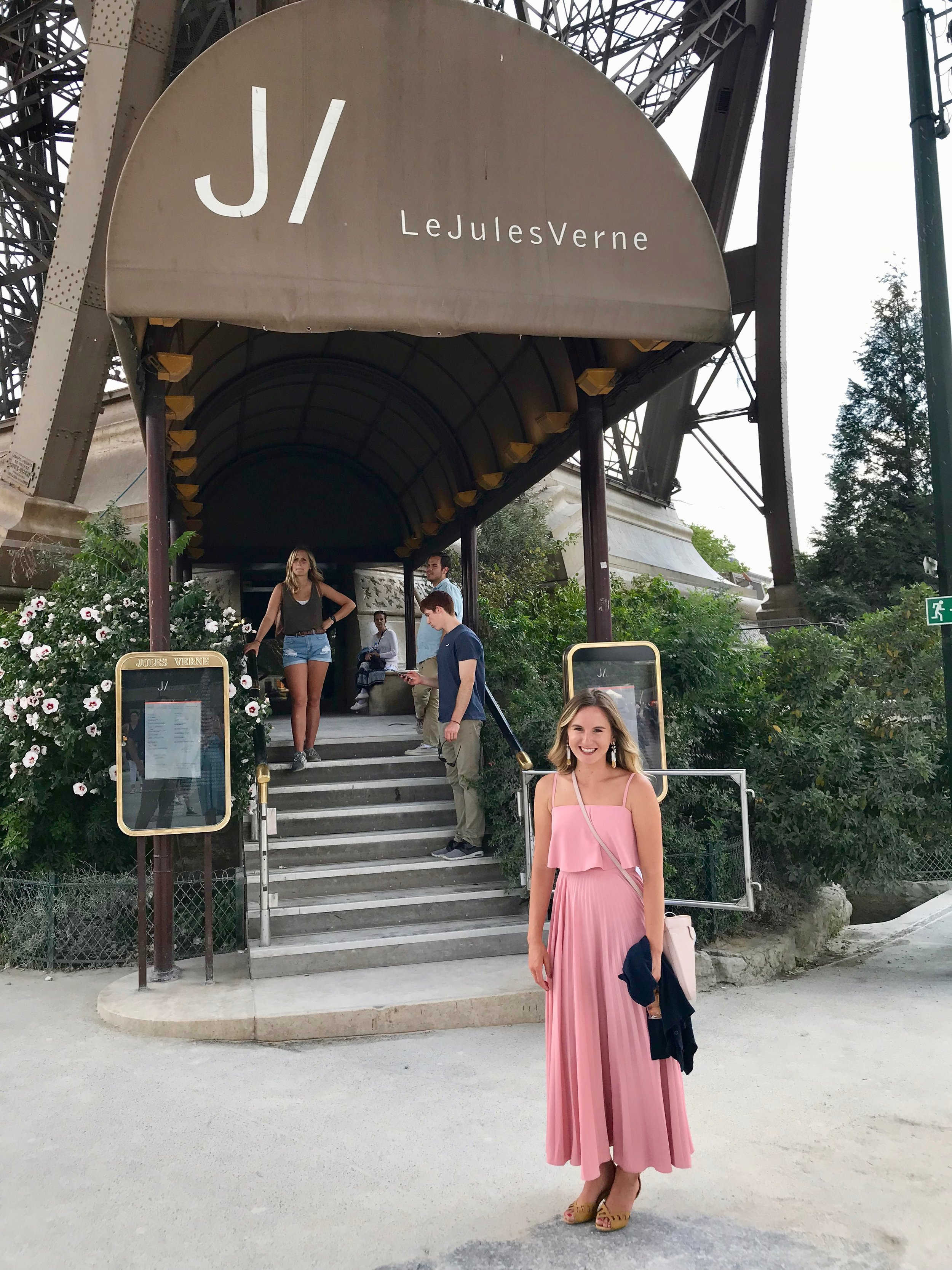 Honeymoon in Paris at Le Jules Verne at the Eiffel Tower