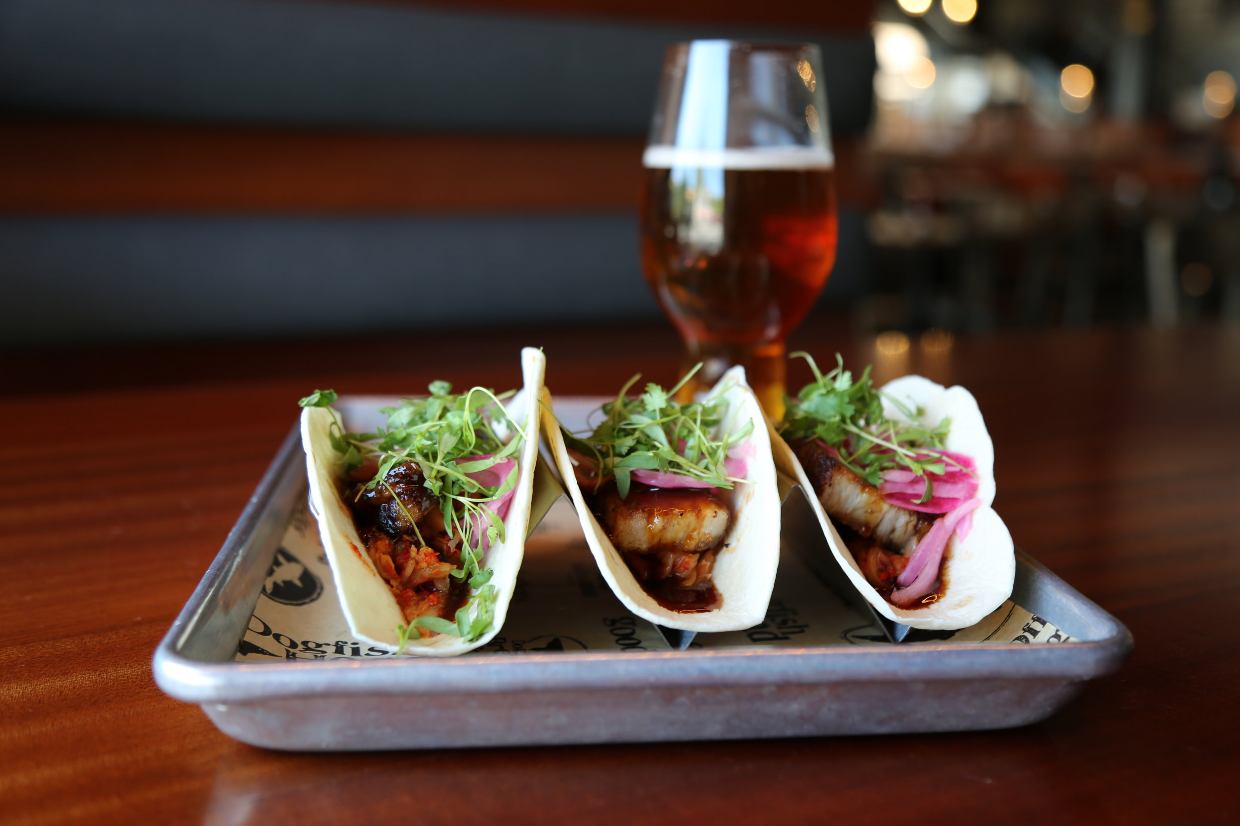 Asian BBQ Pork Belly Taco