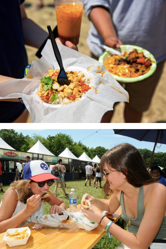 Tips To Eating Inside The Festival | 2018