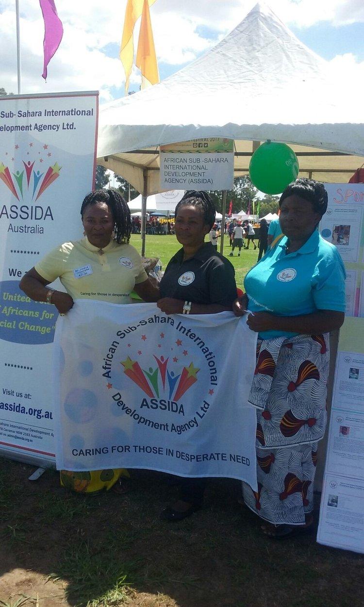 ASSIDA Women at the festival: