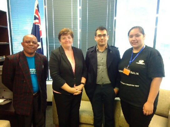 Consultation meeting with the Hon. Anne Stanley, Federal parliament member of Warriata