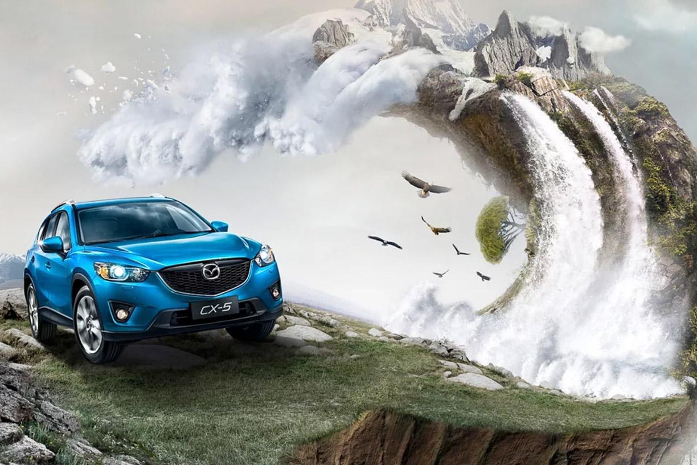 Advertising Design - Mazda CX-5