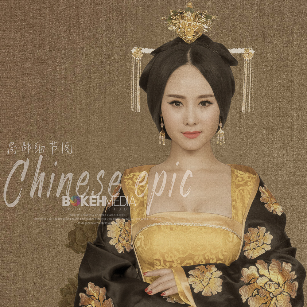 Chinese Epic Series - The Legend of Yang Guifei Photo Shoot