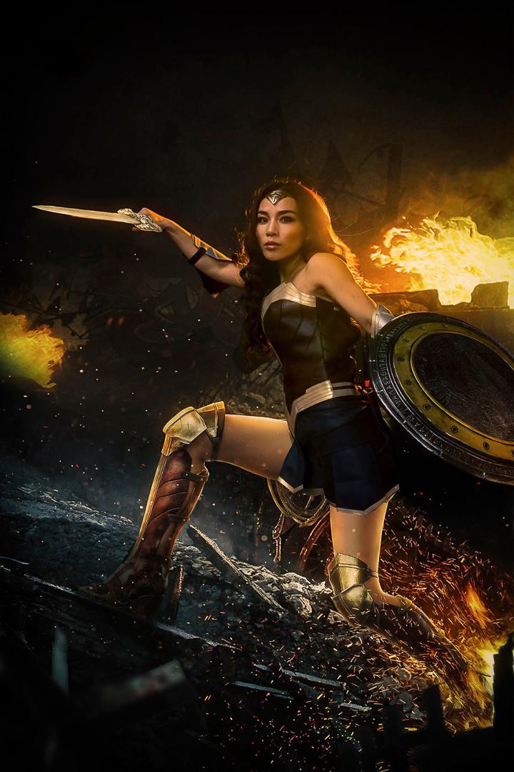Wonder Woman inspired shoot
