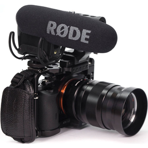 Rode VMPR VideoMic Pro R with Rycote Lyre Shockmount -
