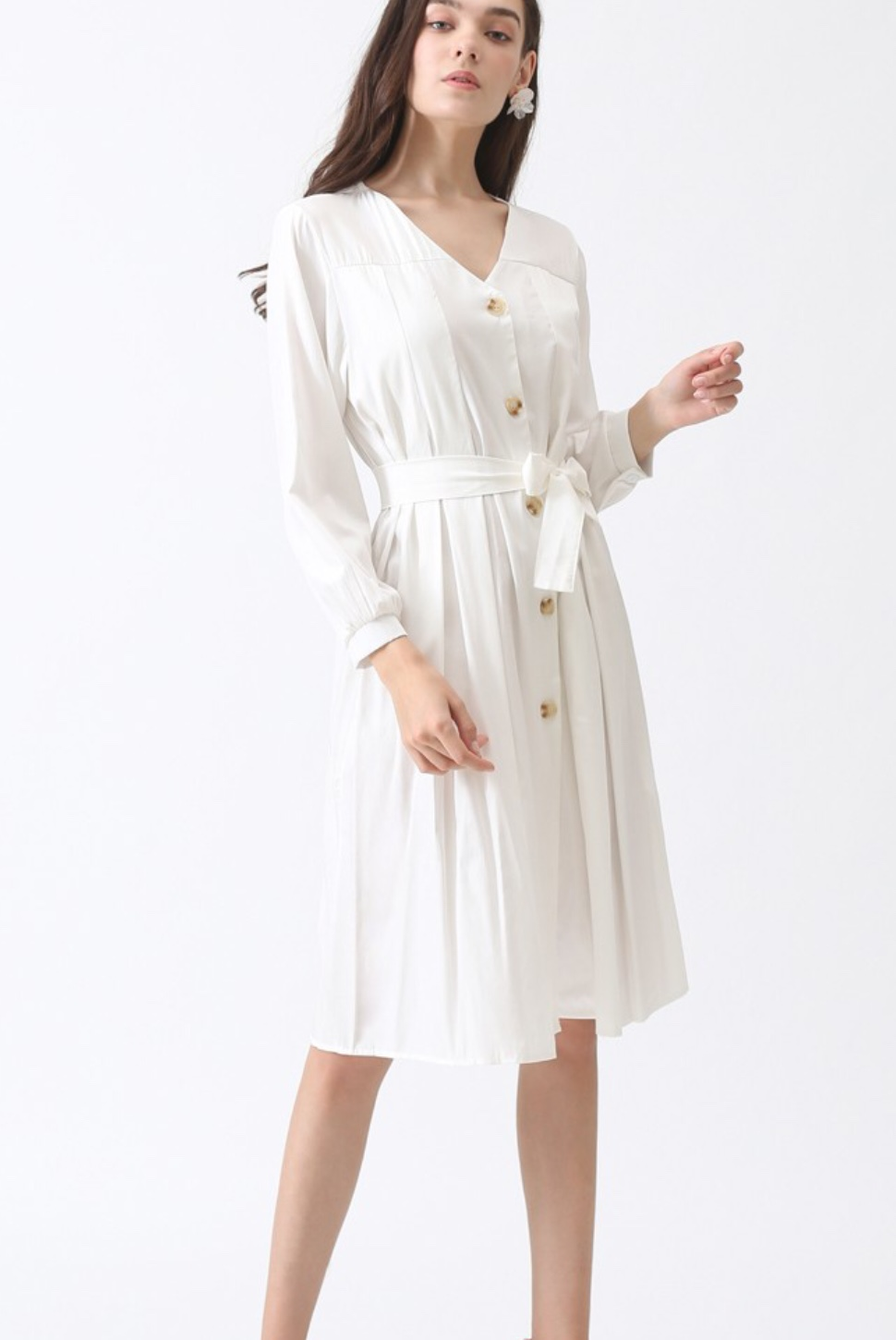A classic cotton dress is perfect for celebrating the end of summer!