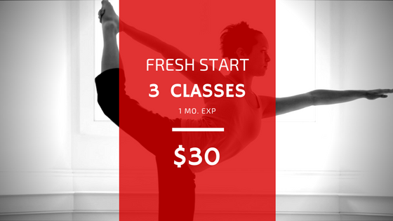Fresh Start: Intro Yoga Class Package
