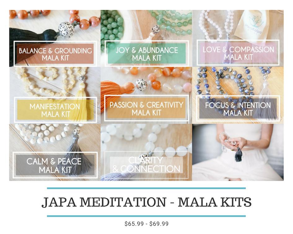 Japa Meditation - Mala Kits
