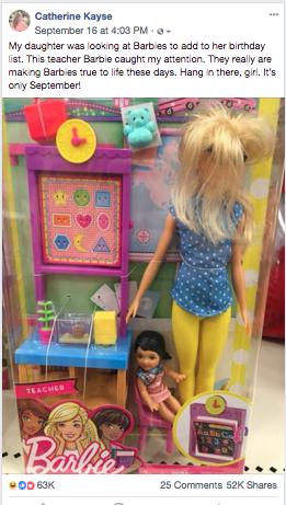 We get it, Teacher Barbie. - We do.