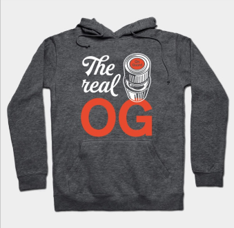 The Real O.G. is OnGuard  Hoodie or Tee Ranging from $18-30