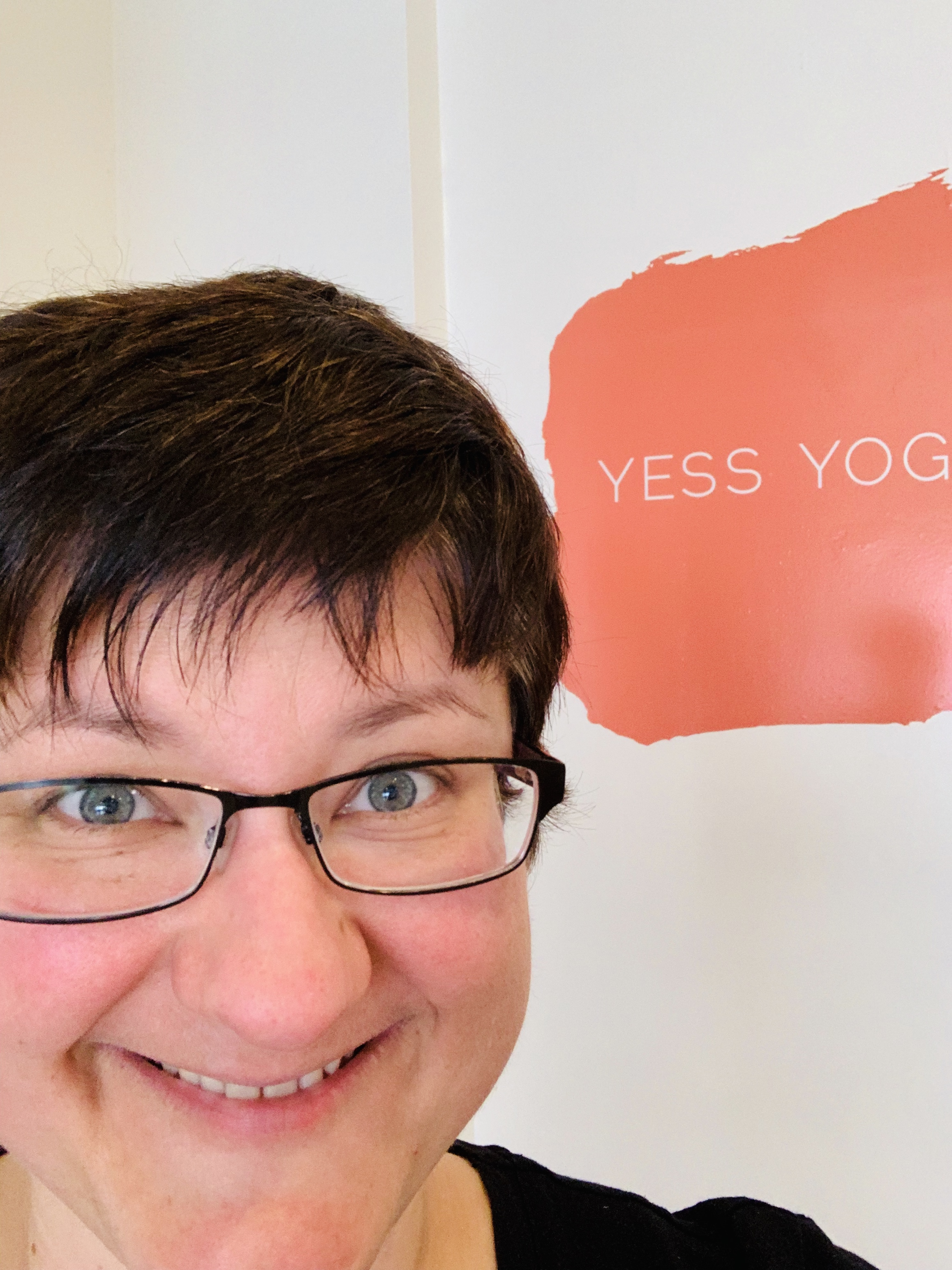 Blissed out after yin & Yoga Nidra class at Yess Yoga.