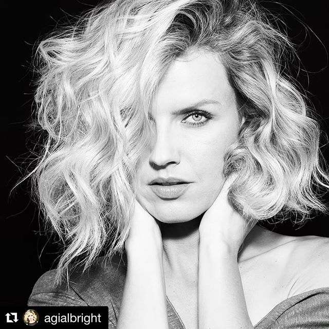 #Repost @agialbright from her shoot with @adamhendershott. We are loving this black and white!