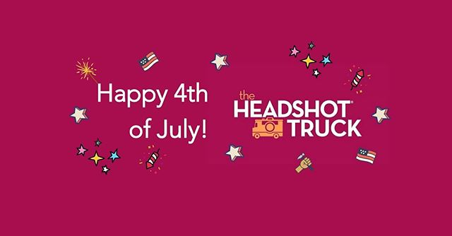 ⭐️From everyone at The Headshot Truck, we wish you a very happy & healthy 4th of July holiday.  Go celebrate in style w 15% off any package & SAVE up to $75 on your next professional headshot session. Use code SIZZLE2019 to book online or call mention this post (855) 729-7465. ⭐️